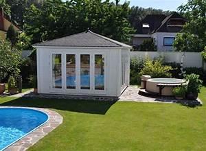 Sauna Für Garten : sauna am pool eine sauna f r den garten pinterest saunas und schwimmb der ~ Markanthonyermac.com Haus und Dekorationen