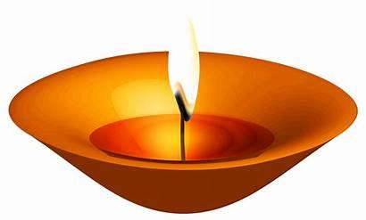 Diwali Candle Clipart Clip Happy Lantern Festival
