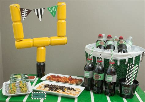 Football Decorations - bowl ideas the idea room