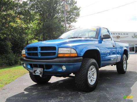 Dodge Dakota Sport by 2001 Blue Pearl Dodge Dakota Sport Regular Cab 4x4