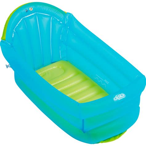 baignoire de voyage bebe baignoire b 233 b 233 gonflable turquoise 10 sur allob 233 b 233