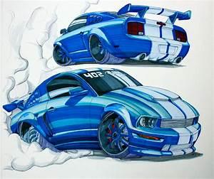Chip Foose Mustang Drawing | www.pixshark.com - Images ...