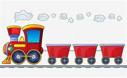 Train Clipart Trains Goods Transparent Pull Imprimir