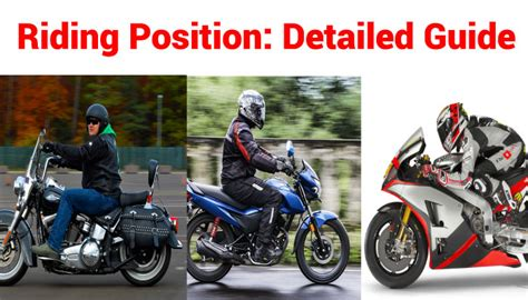 Motorcycle Riding Position Detailed Guide
