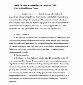 Child Support Agreement Child Support Agreement 9 Download Free Documents In Pdf