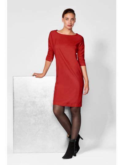 leren rode jurk
