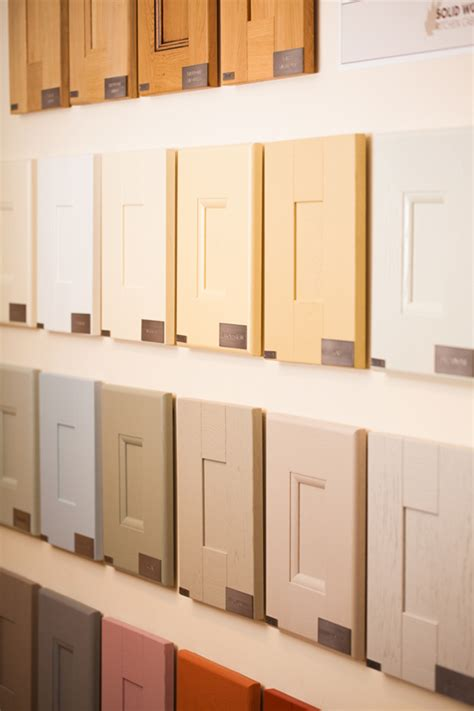 kitchen cabinets knobs or handles solid oak wood kitchen unit doors and fronts