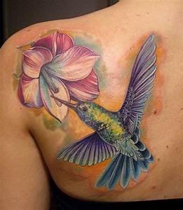 Tatuajes Bonitos De Colibries, Los Mejores Tatuajes De Colibries, Mejores Diseños De Tatuajes De