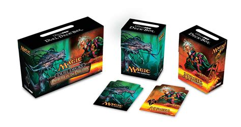 Mtg Sliver Deck Box by Phyrexia Vs The Coalition Deck Boxes The Rumor Mill