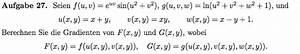 Ableitungen Berechnen : gradient gradienten einer funktion berechnen mathelounge ~ Themetempest.com Abrechnung