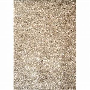 tapis shaggy zelia beige 170x120 cm leroy merlin With tapis roy merlin