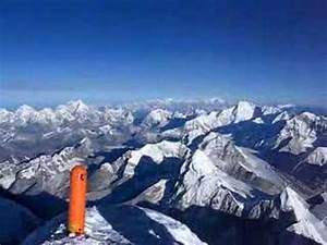 360 degree panorama from the summit of Mount Everest ...
