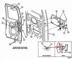 Ford Tailgate Latch Diagram