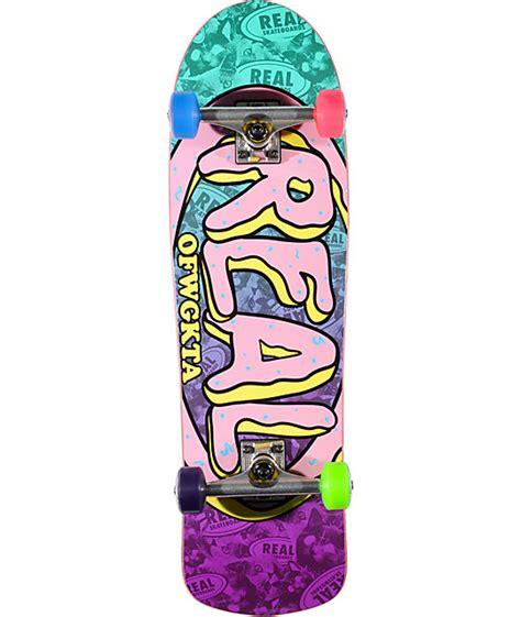 real x odd future 8 93 quot cruiser complete skateboard