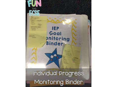 iep progress monitoring freebie fun  ecse