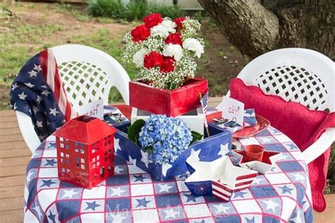 Home Decor 4th Of July Sale : Inexpensive 4th Of July Table Decorations