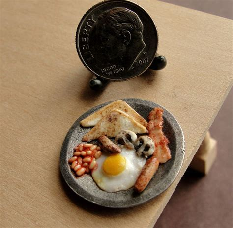 cuisine miniature these delicious looking meals are actually tiny clay