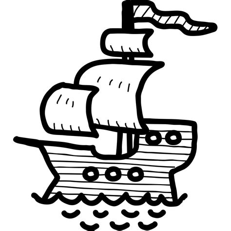 How To Draw A Pirate Boat by How To Draw A Pirate Ship Www Pixshark