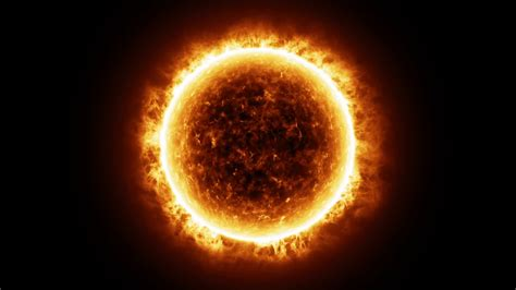 hd sun surface  solar flares  animation motion