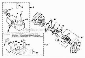 Homelite Yard Broom Parts List And Diagram