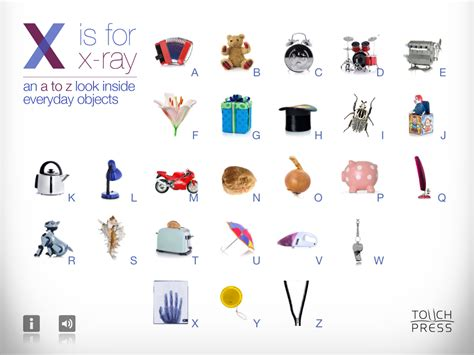 X Is For X-ray (ipad) Review For Teachers