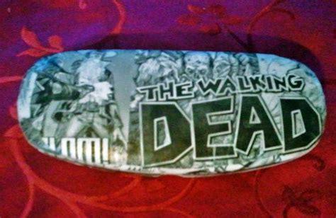 the walking dead custom comic glasses by