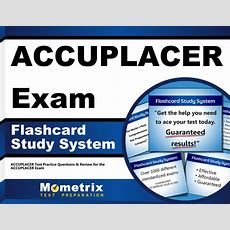 Accuplacer Exam Flashcard Study System 1609710177 Ebay