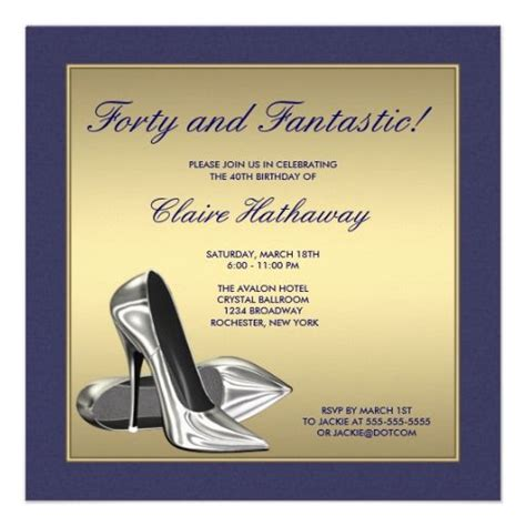21 best images about 40Th Birthday Invitations Wording on