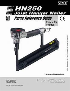Senco Nail Gun Hn250 User Guide