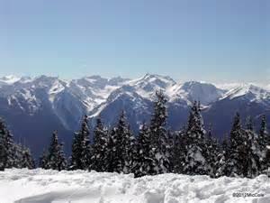 Olympic Mountains Washington State