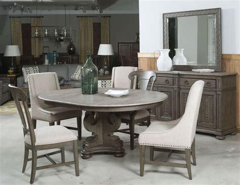 Greyson Grant Round Pedestal Dining Room Set, 608701p