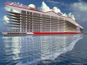 """$6,000,000,000 Floating City """"Freedom"""" to Dwarf World's ..."""