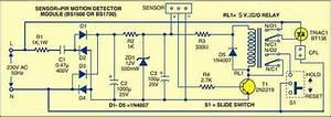 Motion Sensor For Security Light