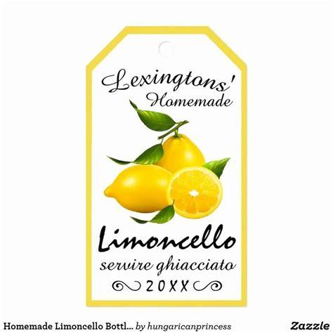 limoncello labels template    limoncello bottle