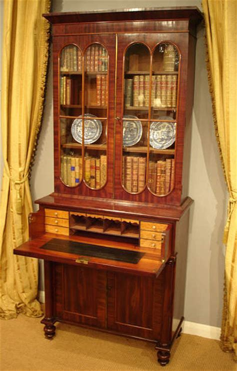 Antique secretaire   Bureau and Secretaire