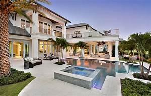 luxueuse villa de reve pour des vacances de tout confort With superior plan de belle maison 3 maison contemporaine en floride au design luxueux et