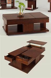 33 beautiful lift top coffee tables to help you declutter With mid century lift top coffee table