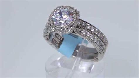 tacori 1 02ct engagement ring ht2522cu 6 5 18kt white gold 8 700 retail 3995 youtube