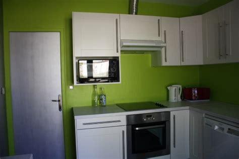 cuisine mur vert cuisine mur vert olive