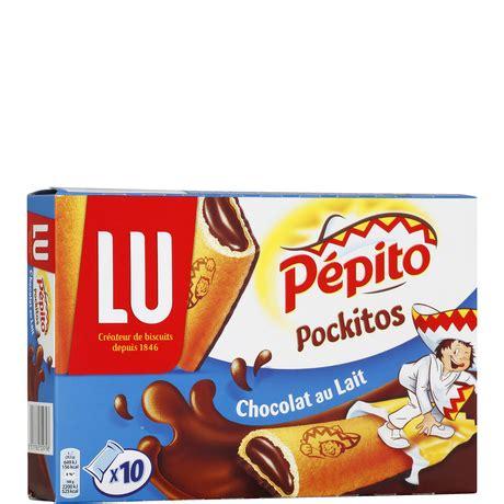 LU Pepito Pockitos milk chocolate x 10 - French Food