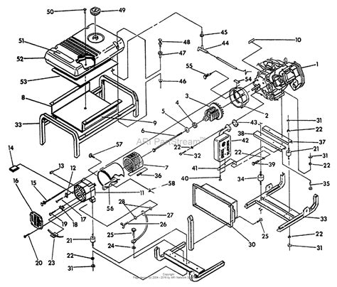 briggs and stratton power products 9783 0 580 327290 6 500 watt craftsman parts diagram for