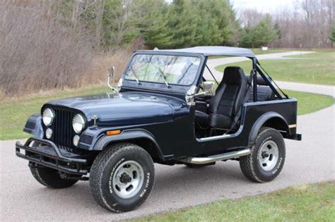 jeep cj   frame  restoration  sale jeep cj    sale  chagrin falls ohio