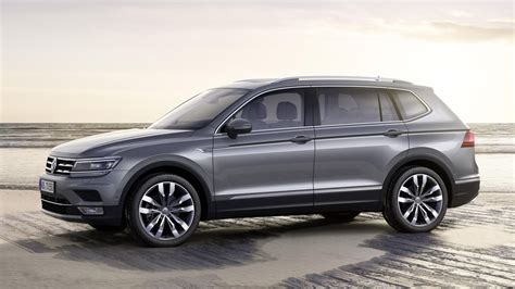 2017 Volkswagen Tiguan Allspace, stretched Tiguan with 7 ...
