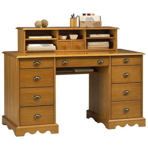bureau du notaire pin massif miel de style anglais beaux