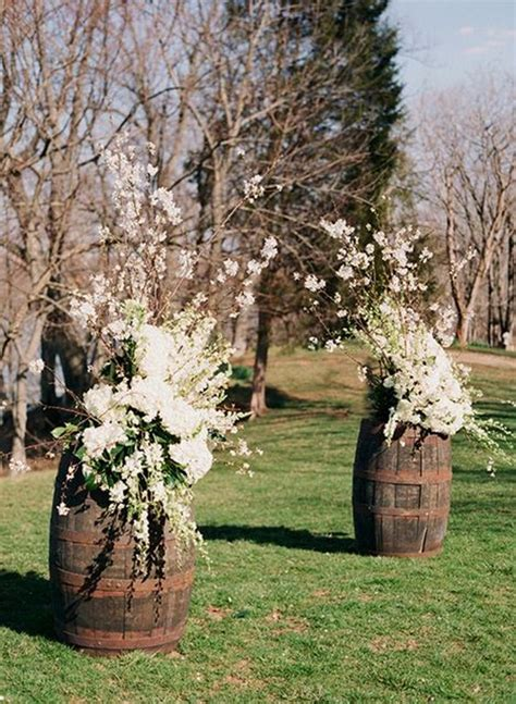 rustic country wine barrel wedding ideas page