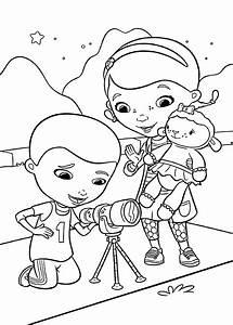 Dibujos De La Doctora Juguetes Para Colorear  Pintar E