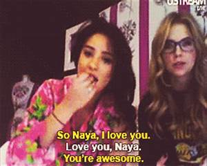 Naya Rivera Dorsey Fansite