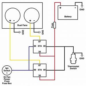 How To Wire Dual Electric Cooling Fans