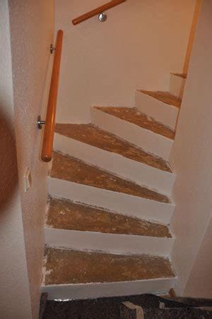 teppich zum verlegen treppe mit holz belegen