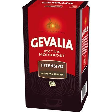 100% satisfaction guarantee on all of our swedish coffees. Gevalia Intensivo Extra Dark Roast Filter Coffee Online